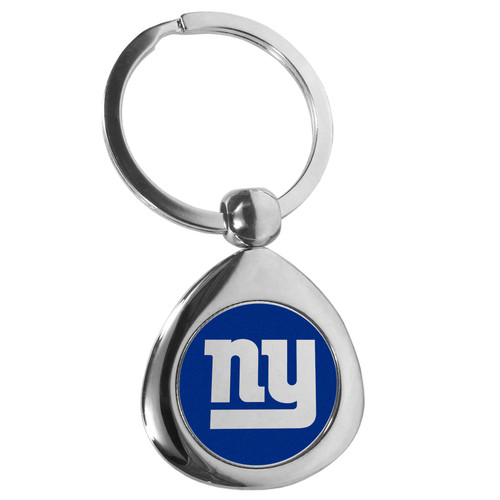 New York Giants Round Teardrop Key Chain