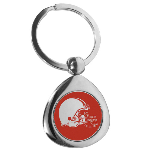 Cleveland Browns Round Teardrop Key Chain
