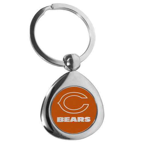 Chicago Bears Round Teardrop Key Chain