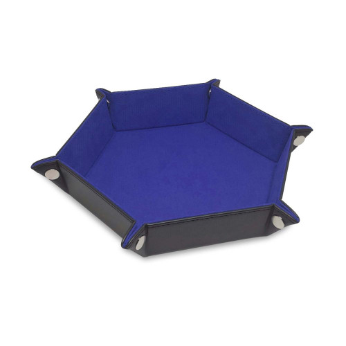 Hexagon Dice Tray- Blue