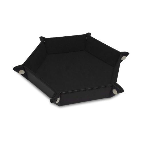 Hexagon Dice Tray- Black