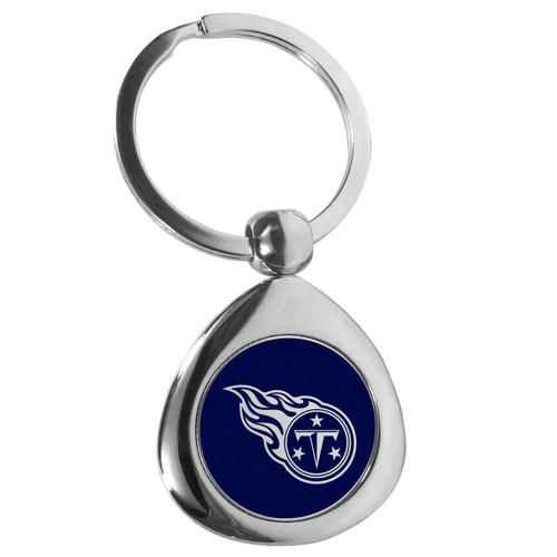 Tennessee Titans Round Teardrop Key Chain