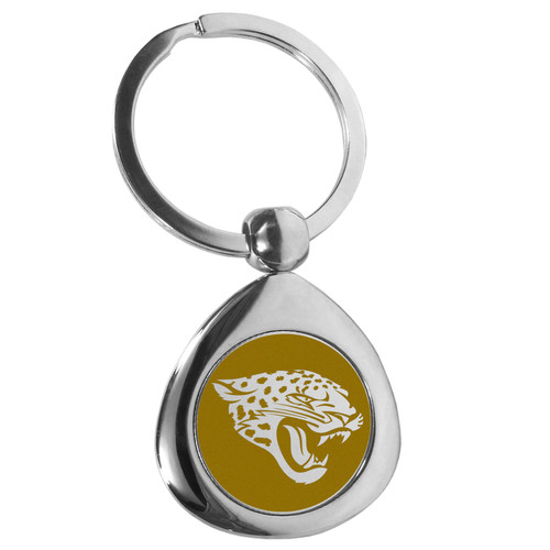Jacksonville Jaguars Round Teardrop Key Chain