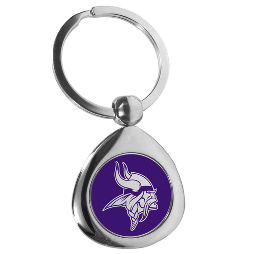 Minnesota Vikings Round Teardrop Key Chain