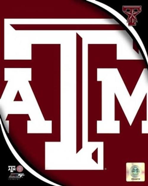 "Texas A&M NCAA Logo Photo - 8"" x 10"""