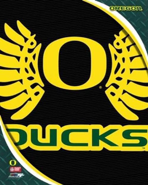 "Oregon Ducks NCAA Logo Photo - 8"" x 10"""