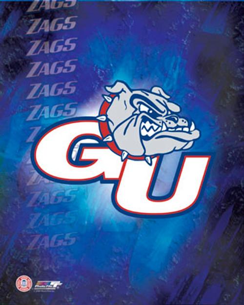 "Gonzaga Bulldogs NCAA Logo Photo - 8"" x 10"""