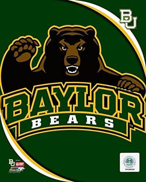 "Baylor Bears NCAA Logo Photo - 8"" x 10"""