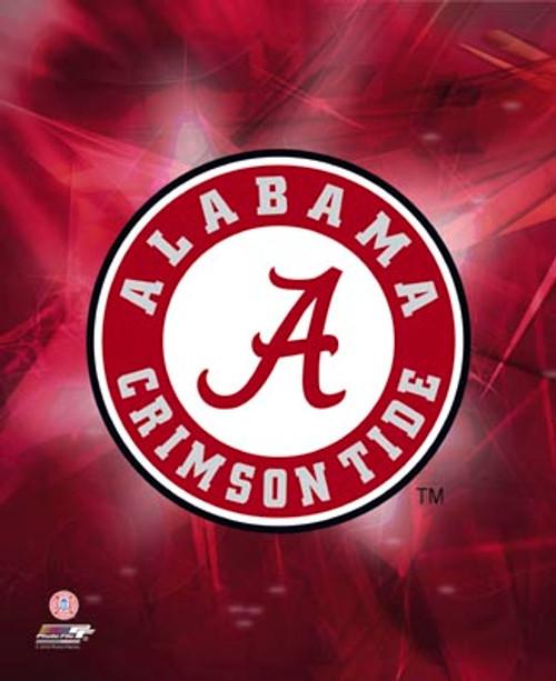 "Alabama Crimson Tide NCAA Logo Photo - 8"" x 10"""
