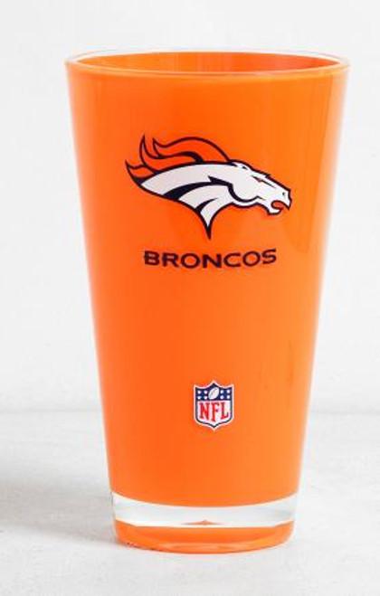 Denver Broncos NFL Insulated Tumbler Glass Cup