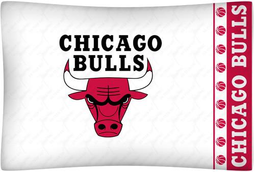 Chicago Bulls NBA Pillowcase