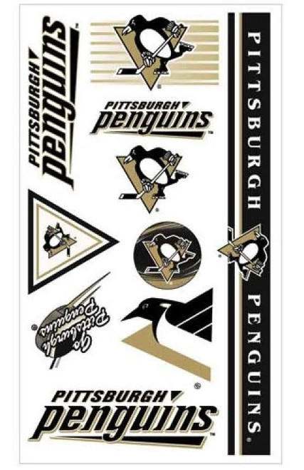 Pittsburgh Penguins NHL Temporary Tattoos