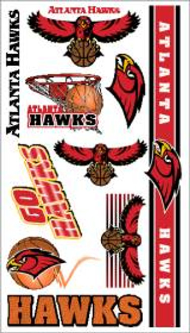 Atlanta Hawks NBA Temporary Tattoos