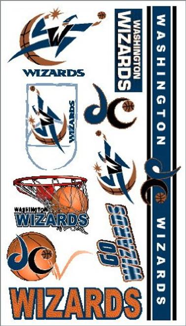 Washington Wizards NBA Temporary Tattoos