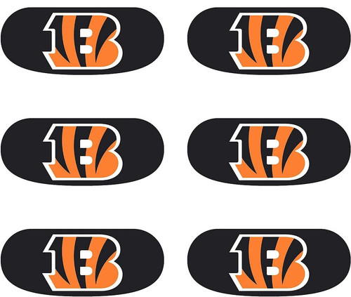 Cincinnati Bengals Eye Black Stickers 6ct