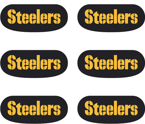 Pittsburgh Steelers Eye Black Stickers 6ct
