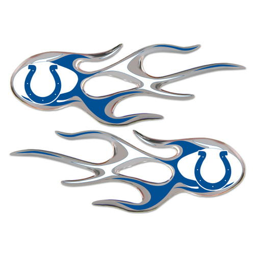 Indianapolis Colts NFL Flame Emblem Decal