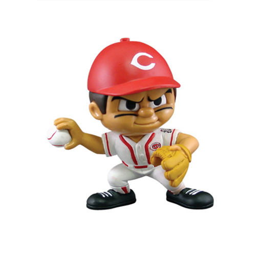 Cincinnati Reds MLB Toy Collectible Pitching Figure