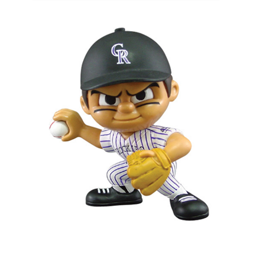 Colorado Rockies MLB Toy Collectible Pitching Figure