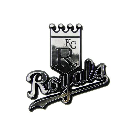 Kansas City Royals Molded Chrome Emblem