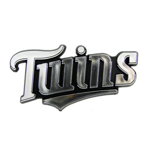 Minnesota Twins Molded Chrome Emblem