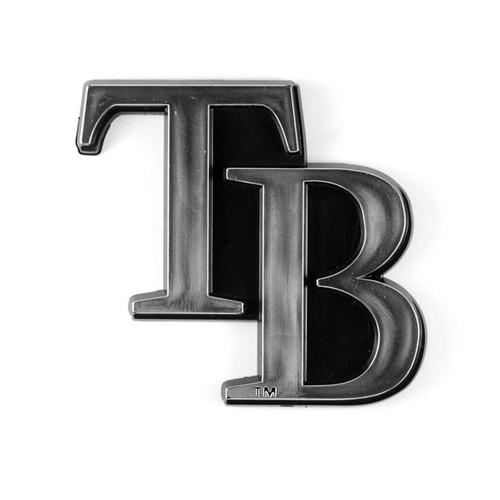 Tampa Bay Rays Molded Chrome Emblem