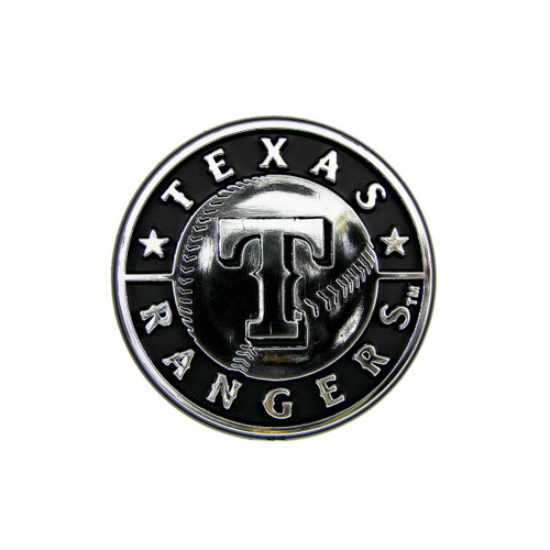 Texas Rangers Molded Chrome Emblem