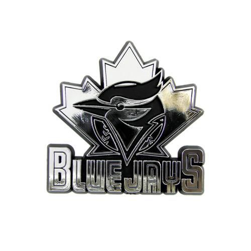 Toronto Blue Jays MLB 3D Chrome Emblem Decal Sticker