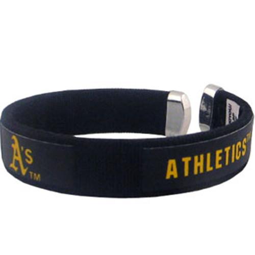 Oakland Athletics MLB Fan Band Bracelet