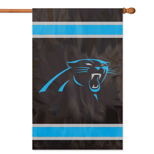 Carolina Panthers 2 Sided Banner Flag