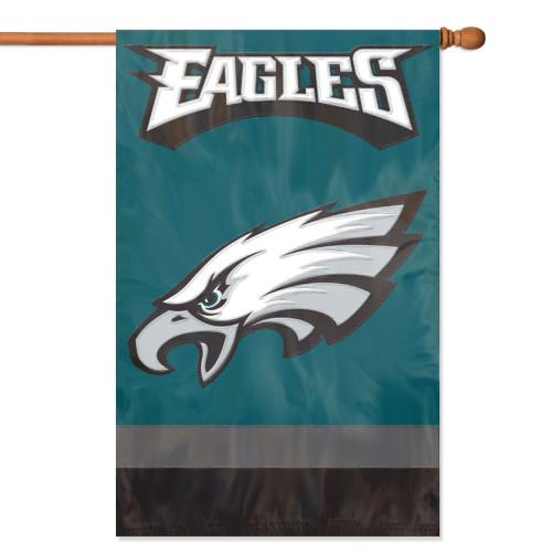 Philadelphia Eagles 2 Sided Vertical Banner Flag