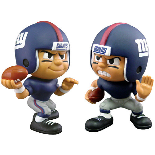 New York Giants Collectible NFL QB/RB Figures