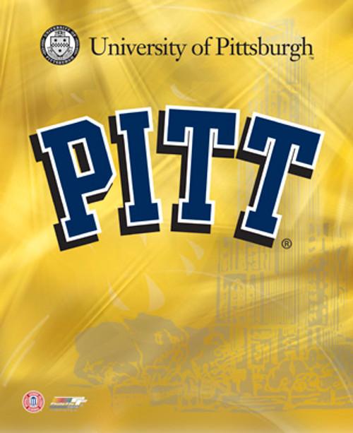 """PITT - Pittsburgh Panthers NCAA Logo Photo - 8"""" x 10"""""""