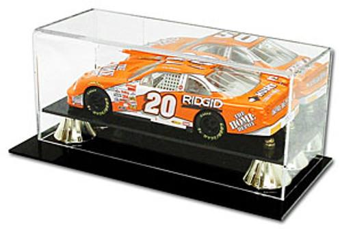 Die Cast NASCAR 1:24 Car Display Case Holder w/ Mirror