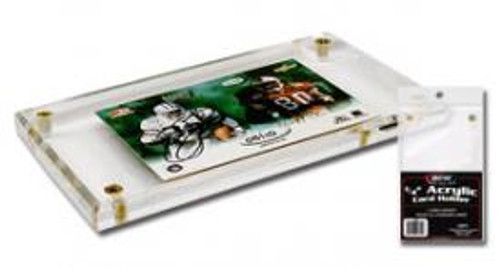 4 Screw 1/4 Inch UV Protected Trading Card Display Case Holder
