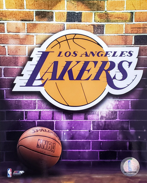 "Los Angeles Lakers NBA Logo Photo - 8"" x 10"""