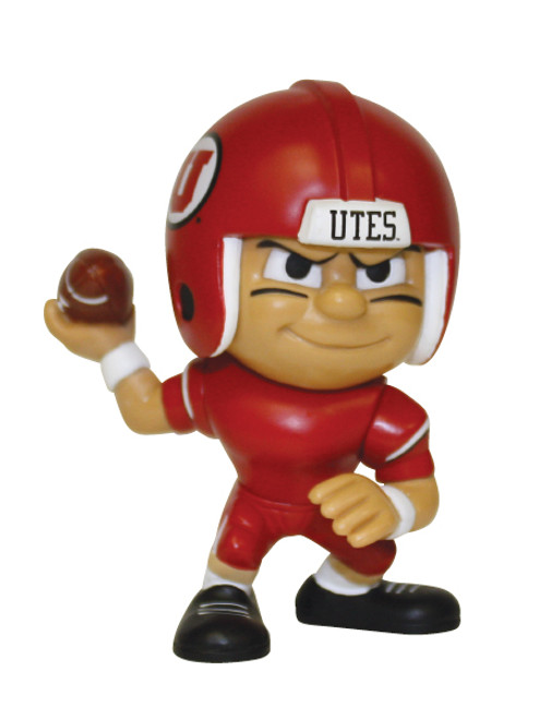 Utah Utes NCAA Toy Collectible Quarterback Figure