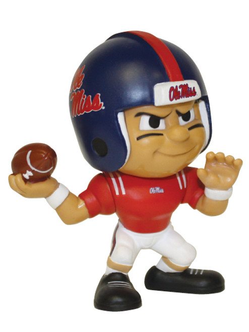 Mississippi Rebels NCAA Ole Miss Toy Collectible Quarterback Figure