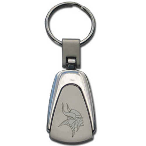 Minnesota Vikings Laser Etched Teardrop Key Chain