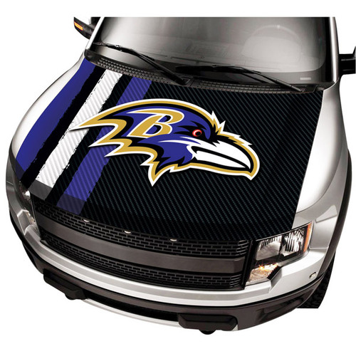 Baltimore Ravens NFL Automobile Hood Cover