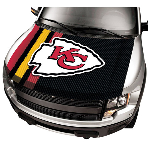 Kansas City Chiefs NFL Automobile Hood Cover