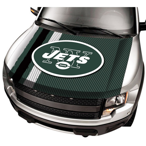 New York Jets NFL Automobile Hood Cover
