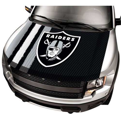 Oakland Raiders NFL Automobile Hood Cover