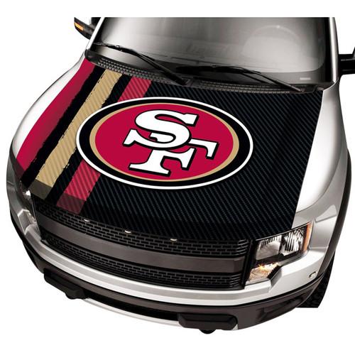 San Francisco 49ers NFL Automobile Hood Cover
