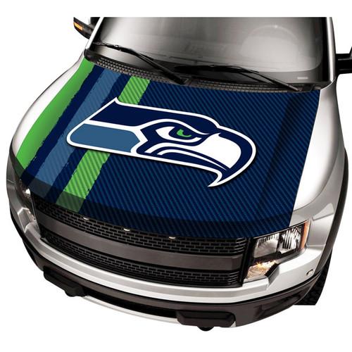 Seattle Seahawks NFL Automobile Hood Cover