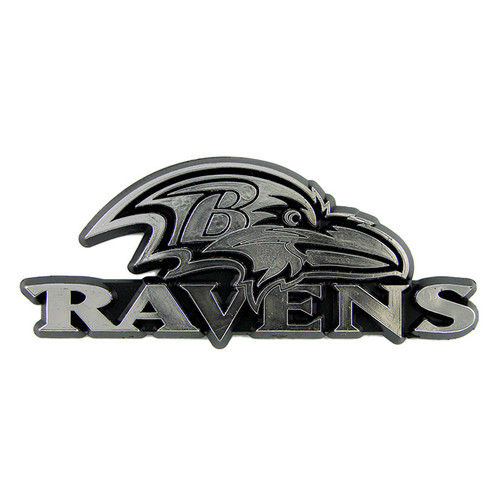 Baltimore Ravens Molded Chrome Emblem