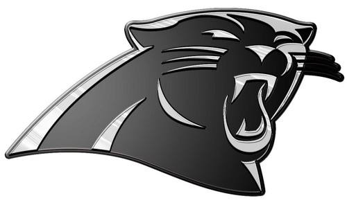 Carolina Panthers Molded Chrome Emblem
