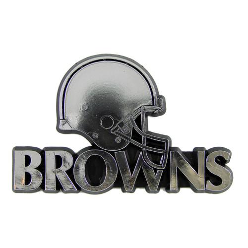 Cleveland Browns Molded Chrome Emblem
