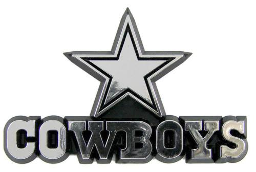 Dallas Cowboys Molded Chrome Emblem