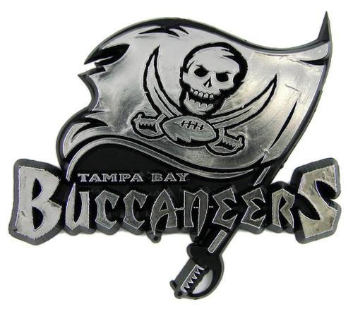 Tampa Bay Buccaneers Molded Chrome Emblem
